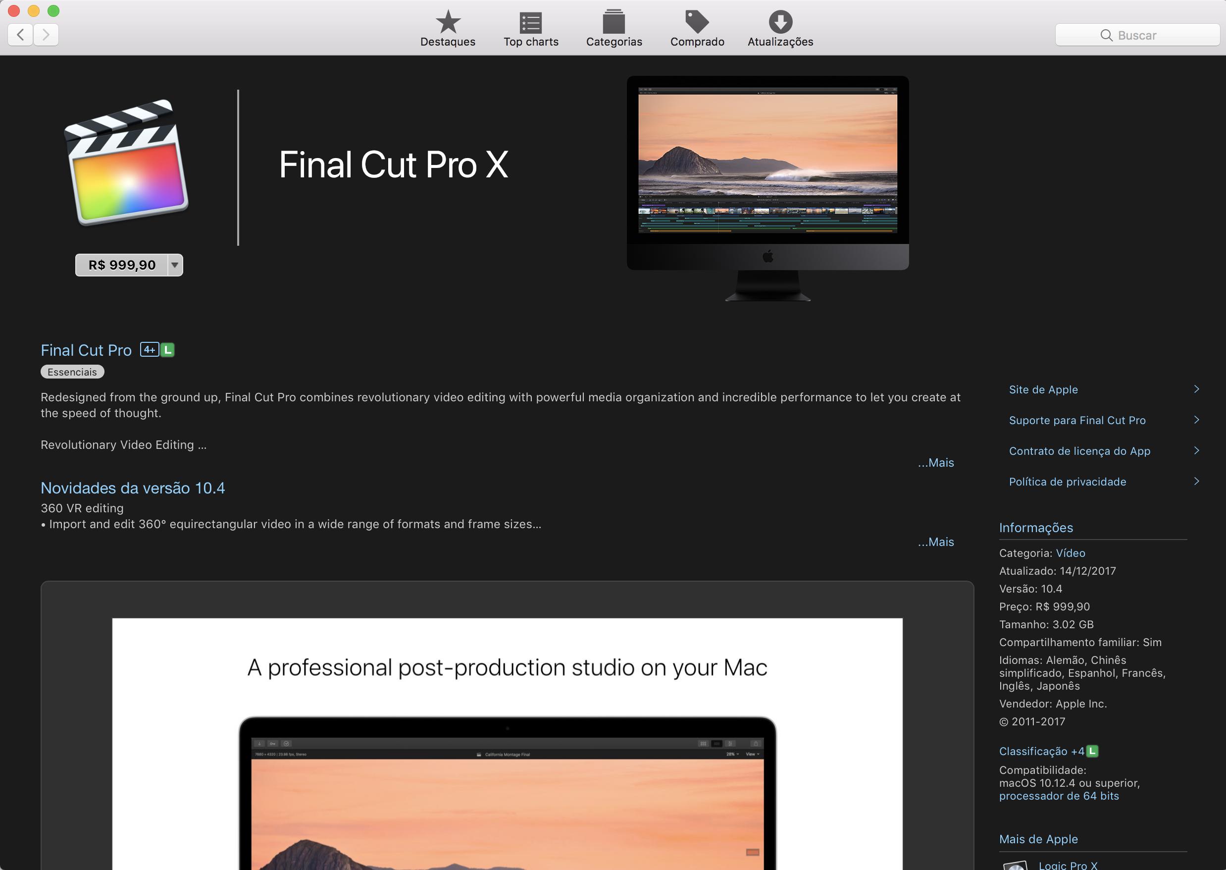 Final Cut Pro X Free Download For Mac